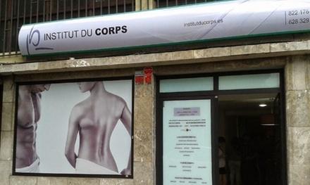 1 o 3 sesiones de mesoterapia roller con presoterapia desde 19,95 € en Institut du Corps