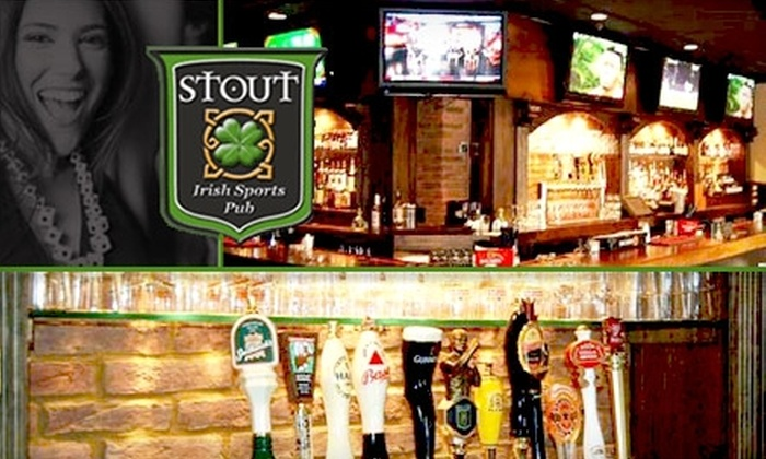 East Andrews Cafe & Bar - Peachtree Heights West: $10 for $25 Worth of Pints, Fish and Chips, and More at Stout Irish Sports Pub