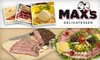 Maxs Delicatessen - Overton: $9 for $20 Worth of Old-Fashioned Sandwiches, Soups, and Sweets at Max's Delicatessen