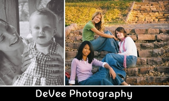 DeVee Photography - Sioux Falls: $47 for a One-Hour, On-Location Photo Shoot and 10–15 Edited Digital Images from DeVee Photography