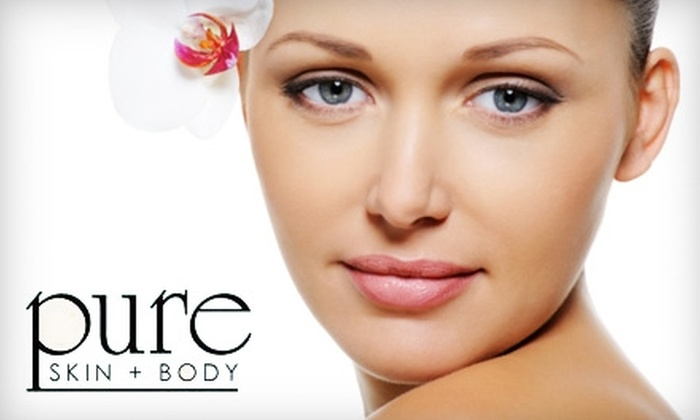 Pure Skin and Body - Macon: $35 for Microdermabrasion Facial at Pure Skin and Body ($80 Value)