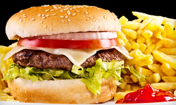 Burger Guy - North Central Omaha: $9 for $18 Worth of Grill Fare at Burger Guy at Louis Bar and Grill
