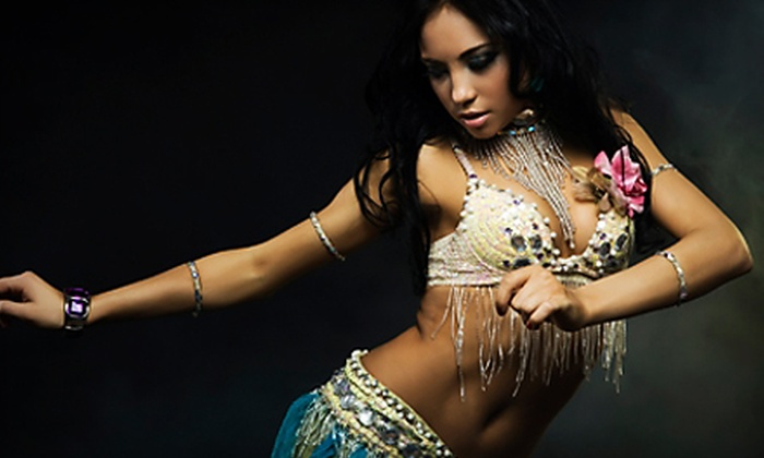 A Magi Dance Studio - Conway Park: Four or Eight Belly-Dancing or Bollywood Classes at A Magi Dance Studio