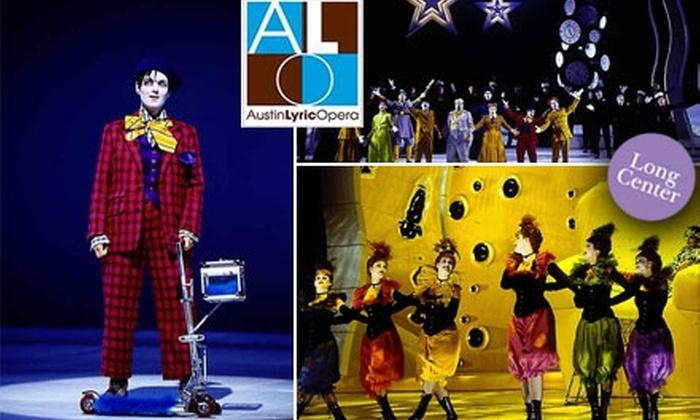 "Austin Lyric Opera - Bouldin: $35 for One Ticket to ""The Star"" at the Austin Lyric Opera on Wednesday, February 3, 2010"
