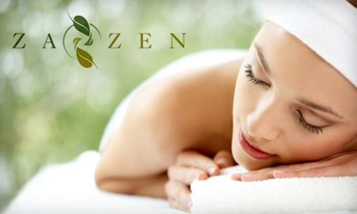 Za Zen Day Spa - Governors Ranch: $30 for a 60-Minute Infrared Sauna Suit Body-Wrap at Za Zen Day Spa ($60 Value)