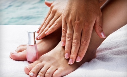 Paragon Spa and Salon: Manicure and Pedicure - Paragon Salon and Spa in Falmouth