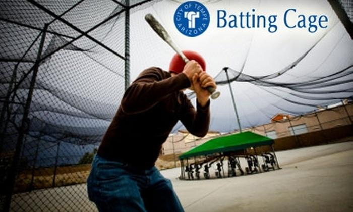 Kiwanis Park Batting Range - Kiwanis Park: $9 for 20 Batting Range Tokens for Kiwanis Park Batting Range in Tempe ($25 Value)