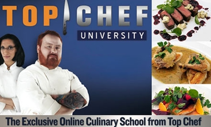 Top Chef University: $12 for $25 Worth of Online Culinary Lessons at Top Chef University