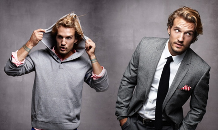 Bonobos Apparel: Men's Clothing from Bonobos (Half Off). Two Options Available.