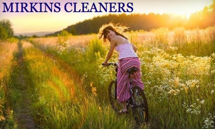 Mirkins Cleaners - Multiple Locations: $10 for $25 Worth of Dry Cleaning at Mirkins Cleaners