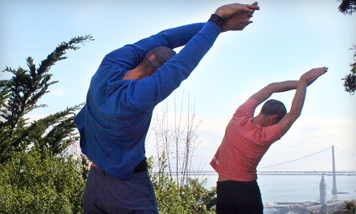 Hiking Yoga - Multiple Locations: $20 for Two Classes at Hiking Yoga ($40 Value)