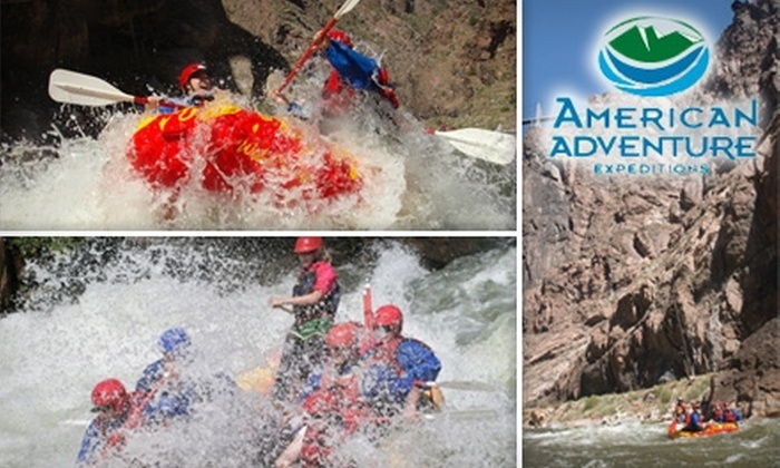 American Adventure Expeditions - Cañon City: $35 for a Half-Day Rafting Trip with American Adventure Expeditions (Up to $70 Value)