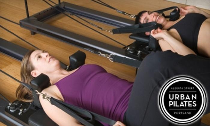 Urban Pilates - Vernon: $10 for Four Group Classes at Urban Pilates