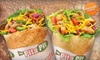 The Pita Pit - New Orleans: $10 for $20 Worth of Stuffed Pitas and Drinks at The Pita Pit