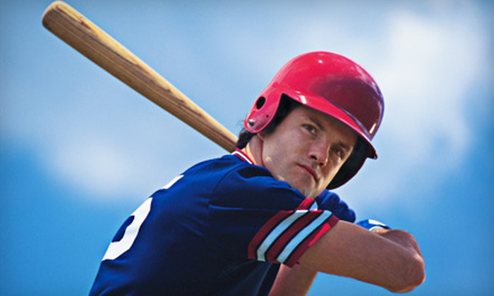 D-Bat - High Point Industrail Park: 20 Batting-Cage Tokens or One-Hour Batting-Cage Rental at D-Bat (Up to 60% Off)
