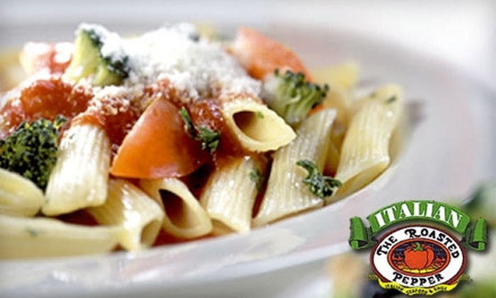 The Roasted Pepper - Palm West: $15 for $30 Worth of Authentic Italian Cuisine and Drinks at The Roasted Pepper