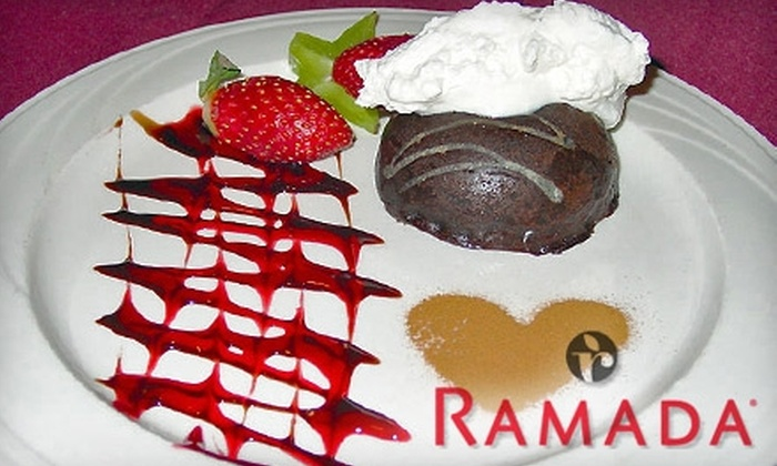 Ramada Hotel & Conference Center - Amherst: $12 for $25 Worth of American Fare and Drinks at Embers Grill in the Ramada Hotel & Conference Center