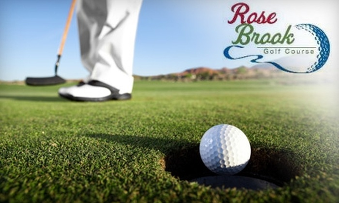 Rose Brook Golf Course - Hanover: $30 for 18 Holes of Golf for Two Plus Cart Rental at Rose Brook Golf Course in Silver Creek