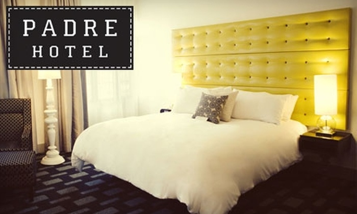 The Padre Hotel - Downtown Bakersfield: $89 for a One-Night Stay at The Padre Hotel in Bakersfield and $20 Breakfast Voucher at The Farmacy (Up to $209 Value)
