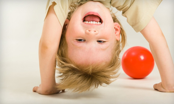 TEGA Kids Superplex - Lubbock: Kids' Dance, Gymnastics, Tumbling, Fitness, or Friday Night Fun Sessions at TEGA Kid's Superplex. Three Options Available.