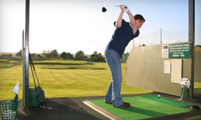 All Sports Dome - Auburn Hills: Mini Golf for Four or Driving-Range Balls at All Sports Dome in Auburn Hills