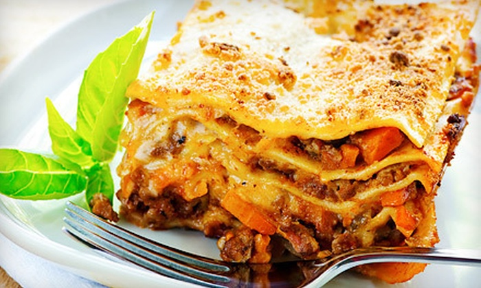 Antonio's Pasta Grille - Multiple Locations: Italian Fare for Dinner or Lunch at Antonio's Pasta Grille in Clearwater or Tampa (Half Off)