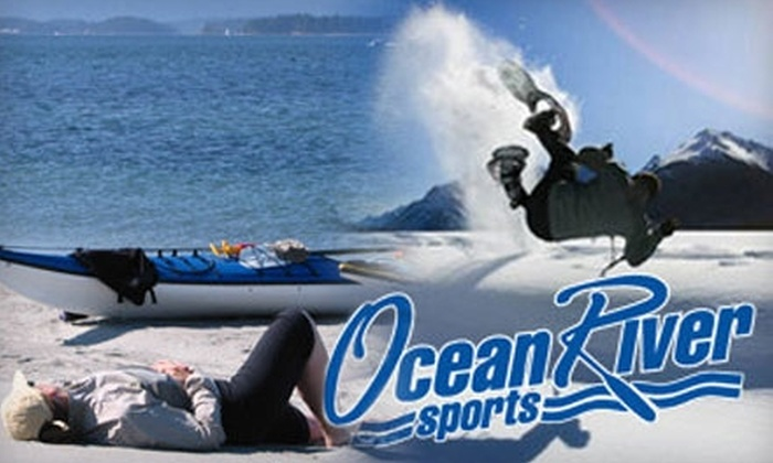 Ocean River Sports - Downtown: $14 for Two-Day Snowshoe Rental with Poles (Up to $32 Value) or $20 for Three-Hour Kayak, Canoe, or Paddle Board Rental ($40 Value) from Ocean River Sports
