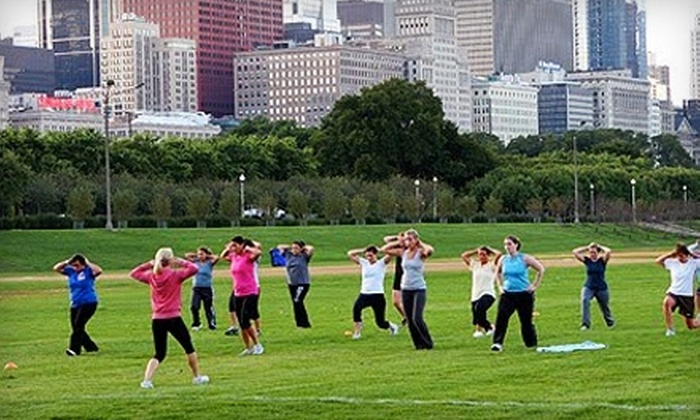 TEAMiFIT - Multiple Locations: Outdoor Fitness Programs at TEAMiFIT. Two Options Available.