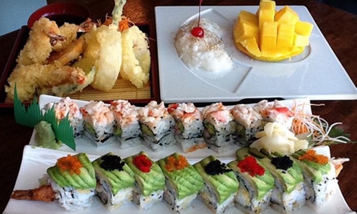 Maki Sushi & Noodle Shop - Chicago: Sushi Dinner for Two or Four at Maki Sushi & Noodle Shop in Park Ridge