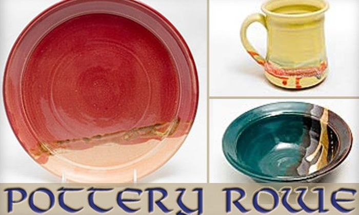 Pottery Rowe - Clifton: $12 for $30 Worth of Fine Pottery at Pottery Rowe