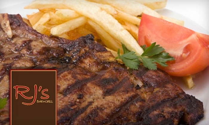 RJ's Bar and Grill  - San Trope: $20 for $40 Worth of Steakhouse Fare at RJ's Bar and Grill