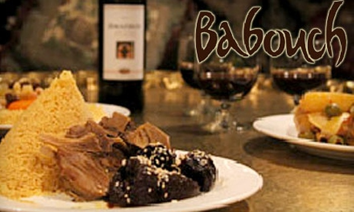 Babouch Moroccan Restaurant - Central San Pedro: $18 for $40 Worth of Authentic Moroccan Cuisine and Drinks at Babouch Moroccan Restaurant in San Pedro