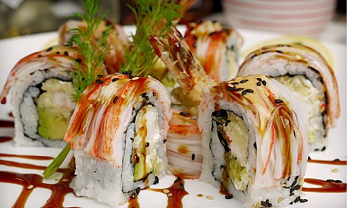 Shogun Japanese Grill & Sushi Bar - Silverlake: $10 for $20 Worth of Hibachi Fare and Sushi at Shogun Japanese Grill & Sushi Bar in Pearland