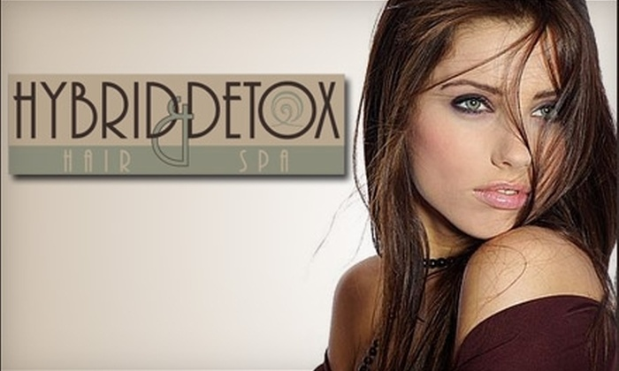 Hybrid Hair and Detox Spa - Westmount: $50 for $100 Worth of Cut and Colour Services at Hybrid Hair and Detox Spa in Belmont Village