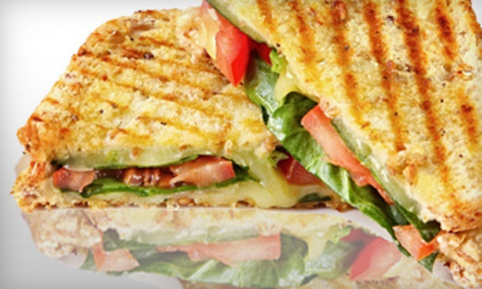 Panini's Restaurant - Downtown: $8 for $16 Worth of Sandwiches, Salads, and Drinks at Panini's Restaurant