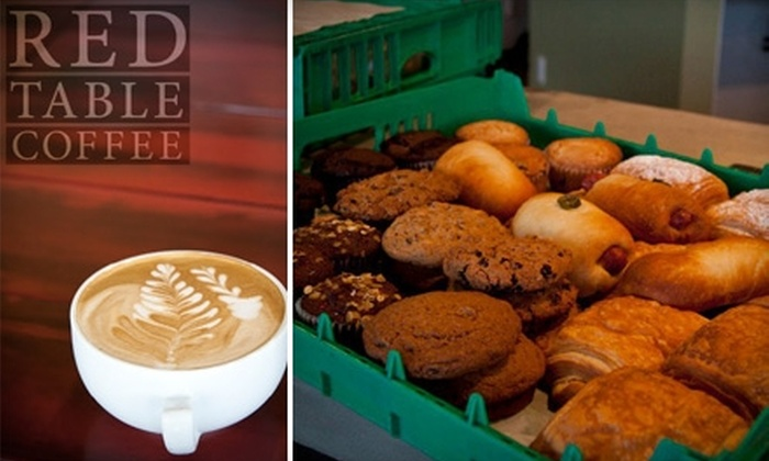 Red Table Coffee - Sweetbriar: $5 for $10 Worth of Coffee and Café Fare at Red Table Coffee