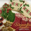 Half Off Holiday Cookies from Beautiful Sweets Organic Bakery