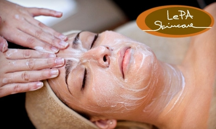 LePA Skincare - West University: $49 for Your Choice Of Electrolysis, a Facial, or an Anti-Cellulite Vacuum Massage at LePA Skincare