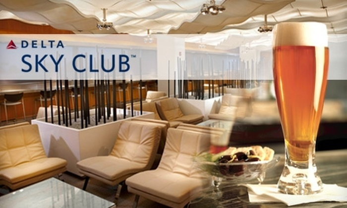 Delta Sky Club - College Park: $22 for a One-Visit Pass to Delta Sky Club ($50 Value)