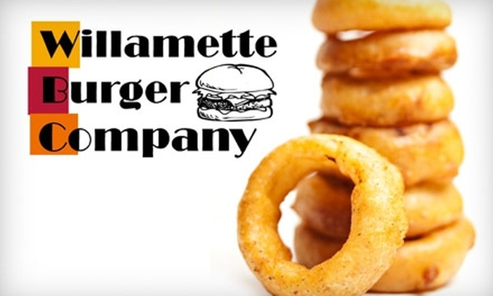 Willamette Burger Company - Grant: $7 for $14 Worth of Gourmet Burgers, Brews, and More at Willamette Burger Company