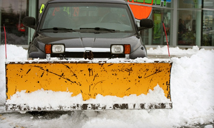 O'Donahue Contractors - Torresdale: One, Three, or Five Driveway Snow-Removal Services from O'Donahue Contractors (Up to 66% Off)
