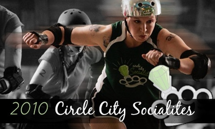 Circle City Socialites - Fishers: $6 Ticket to a Circle City Socialites Roller-Derby Game