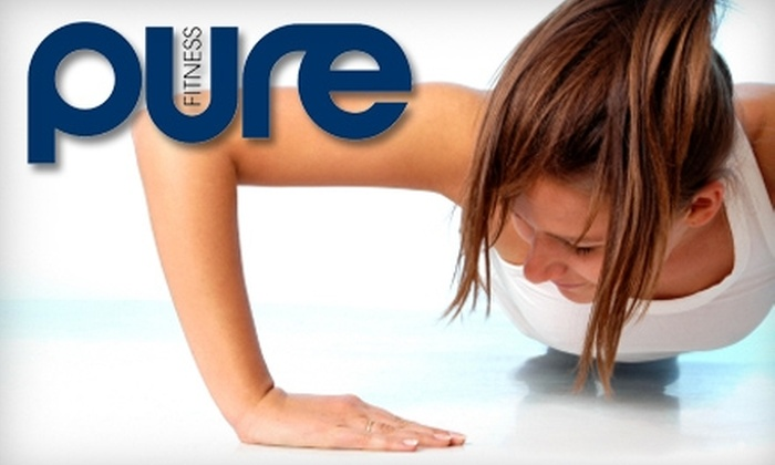 Pure Fitness - LaFortune Park: $35 for One Month of Unlimited Boot Camp and an Advanced Nutrition Plan from Pure Fitness ($200 Value)