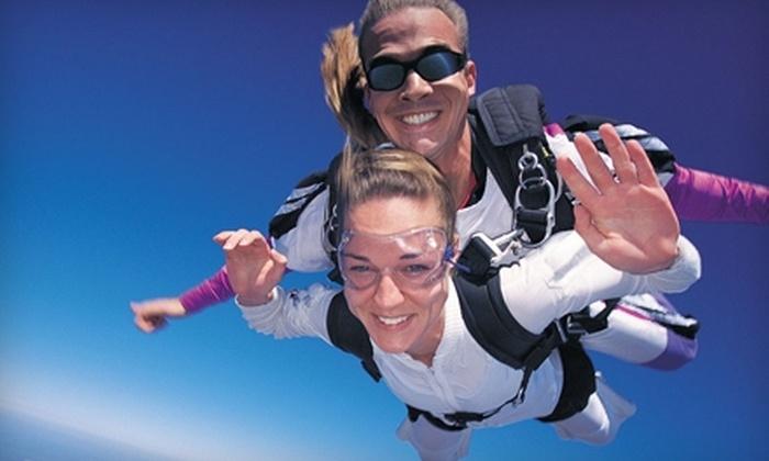 Skydive Atlanta - The Rock-Yatesville: $135 for Tandem Skydive from Skydive Atlanta in Thomaston ($239 Value)