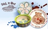 Dish It Out - Multiple Locations: $20 for $40 Worth of Pottery Painting, Glass Fusing, and More at Dish It Out