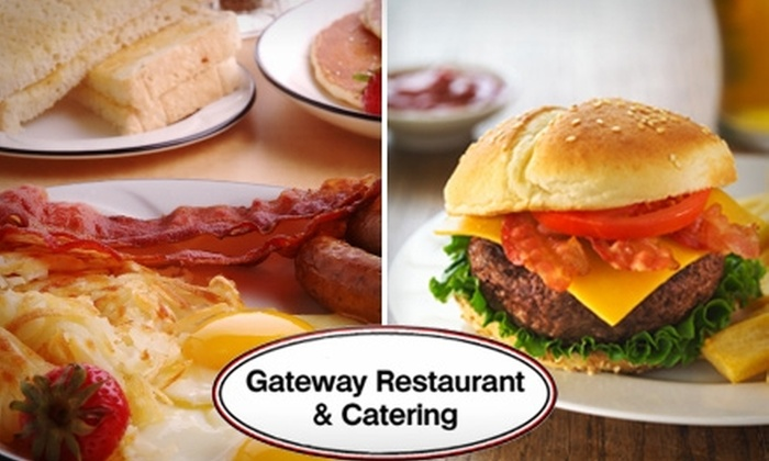 Gateway Restaurant - East Raleigh: $4 for $10 Worth of Home-Style Breakfast and Lunch Fare at Gateway Restaurant