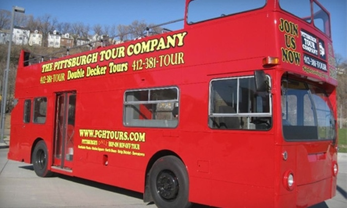 The Pittsburgh Tour Company - Southside Flats: $10 for a Double-Decker Bus Tour from The Pittsburgh Tour Company ($20 value)