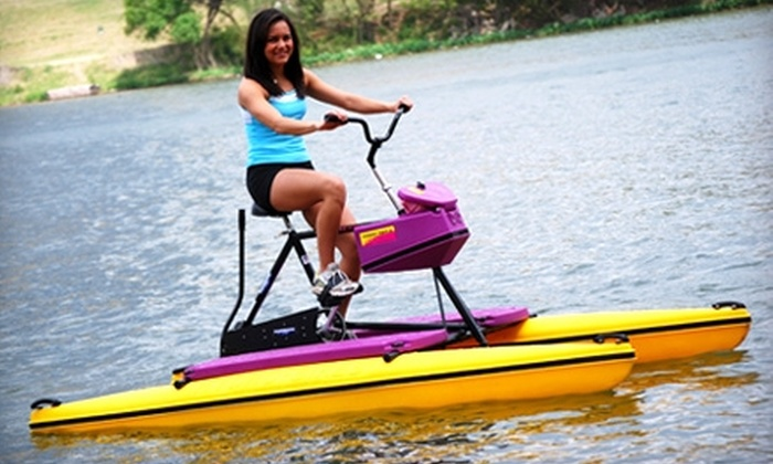 Austin Water Bikes - Bouldin: $22 for Two-Hour Water-Bike Rental from Austin Water Bikes ($44 Value)