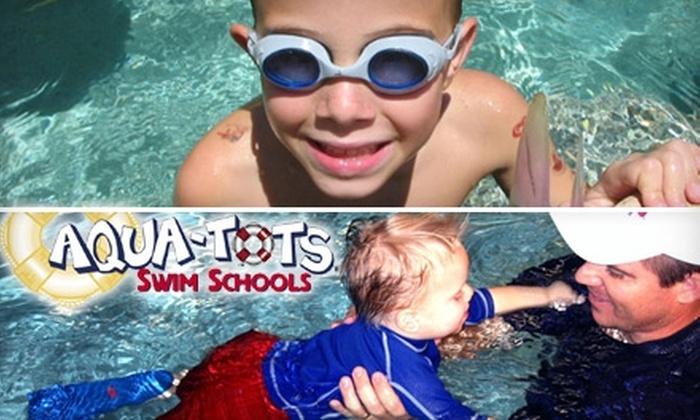 Aqua-Tots Swim School - Multiple Locations: $34 for One Month of Swim Lessons at Aqua-Tots Swim School ($68 Value)