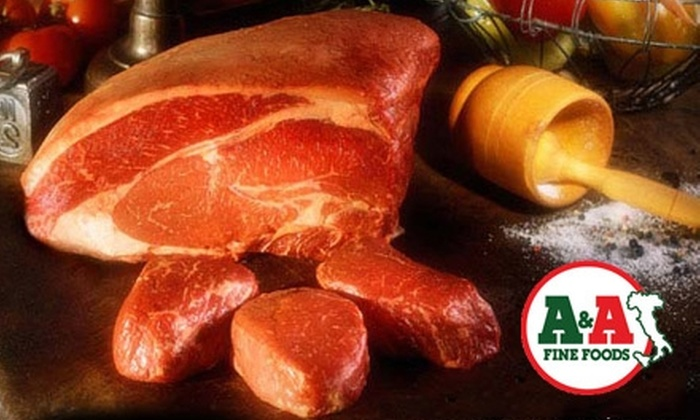 A&A Fine Foods - Lincoln Park: $10 for $20 Worth of Quality Meats, Sandwiches, and More at A&A Fine Foods in Lincoln Park